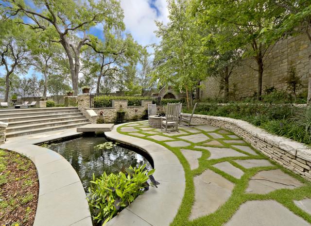 English Tudor Estate Amp Garden Traditional Landscape