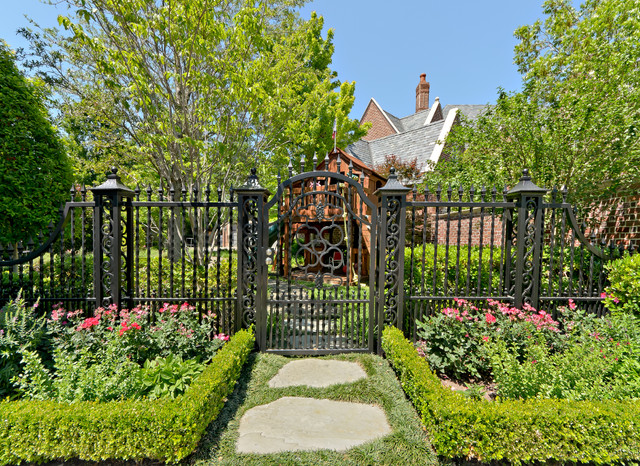 English Tudor Estate Amp Gardens Traditional Landscape