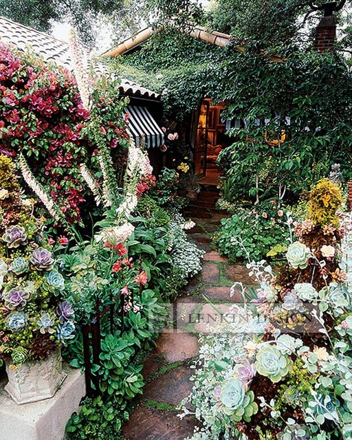 English garden traditional landscape los angeles for English garden design