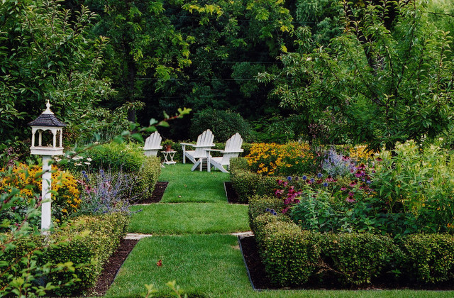 Beau English Garden Traditional Landscape