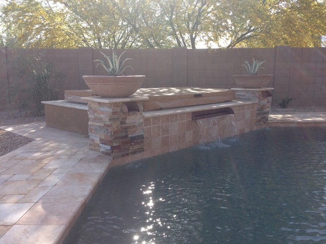Entertain & Relax In This Chandler Landscape Design:  Sicliano Project traditional-landscape