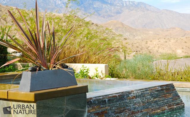 Entertainment Paradise, Rancho Mirage, CA modern-landscape
