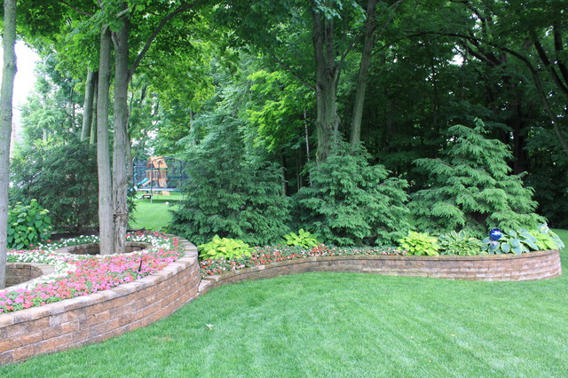 Evergreen Screen Traditional Landscape Grand Rapids