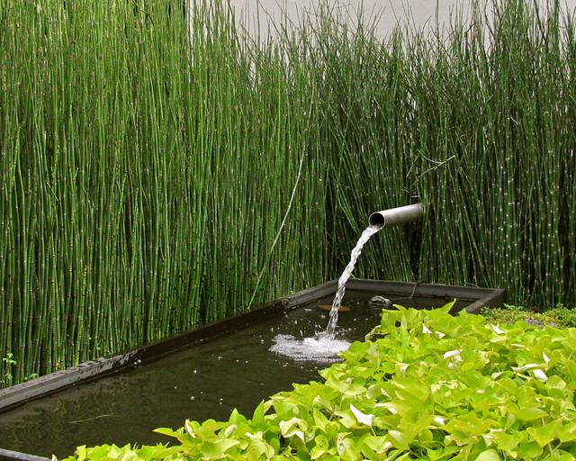 Explanada - Jardin moderne zen villeurbanne ...