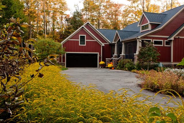 Fall Landscaping fall landscape - craftsman - landscape - grand rapids -blue