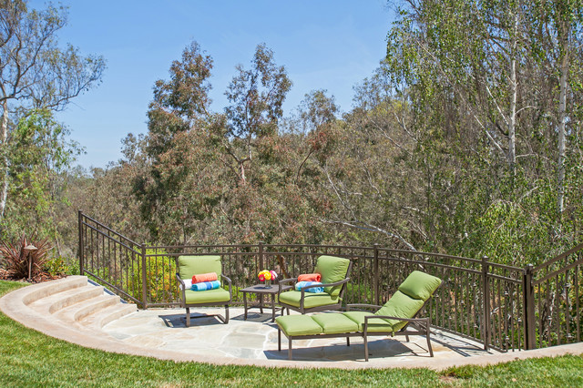 Fun Outdoor Living : Family Fun Outdoor Living - Transitional - Landscape - san ...