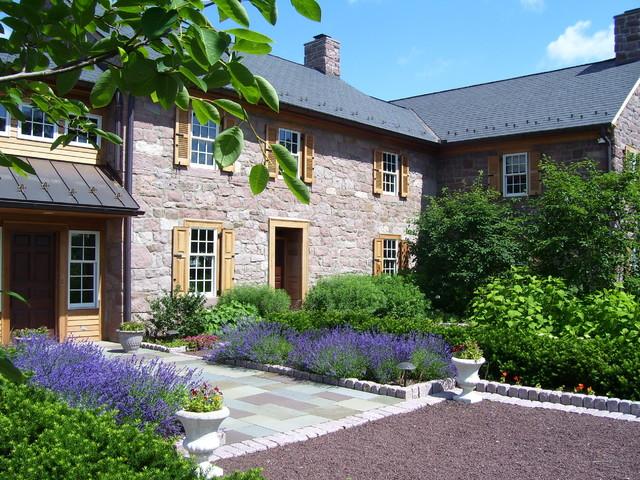 Farmhouse Transformed country-garden
