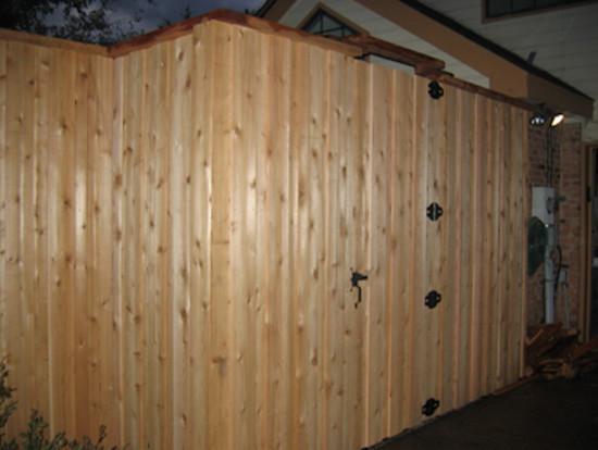 fence and deck. Black Bedroom Furniture Sets. Home Design Ideas