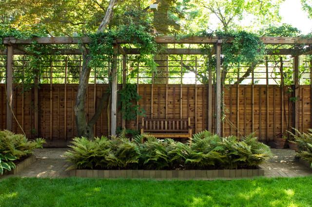 Suburban oasis contemporary landscape philadelphia for Suburban garden design ideas