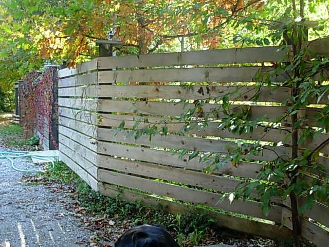 fence contemporary-landscape