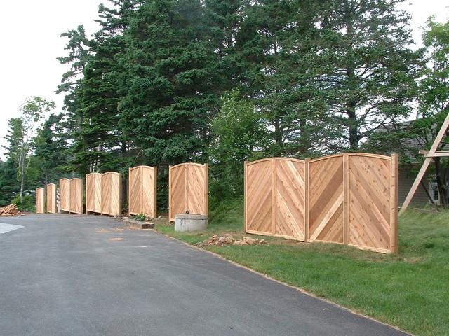 Fences traditional-landscape