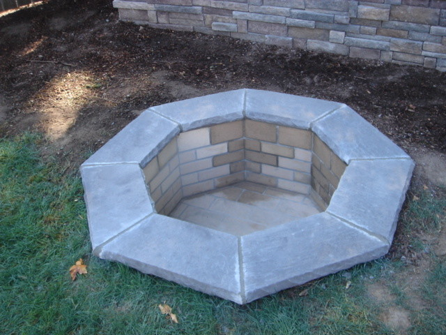 Fire Pit Traditional Landscape Portland By Brown