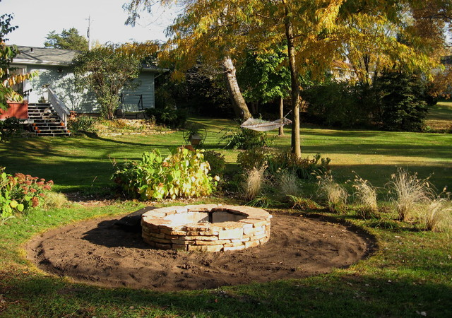 landscaping ideas around fire pit pdf