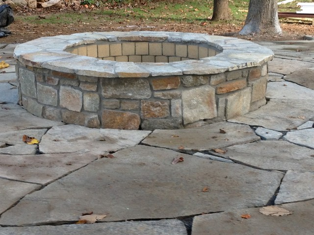 Fire Pit Traditional Landscape Baltimore By Urban