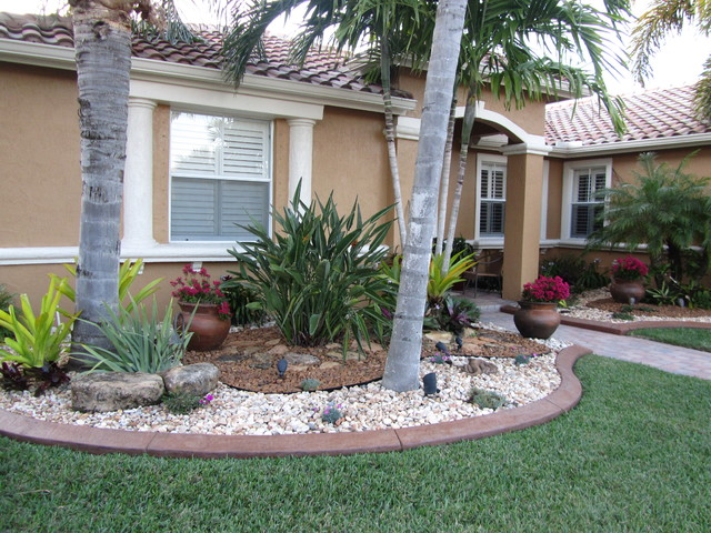 FLA Rock Garden tropical-landscape