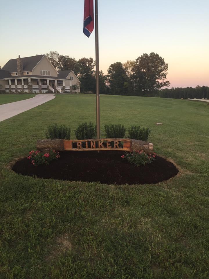 Flag Pole Landscape Landscape Nashville By Dotson Landscaping