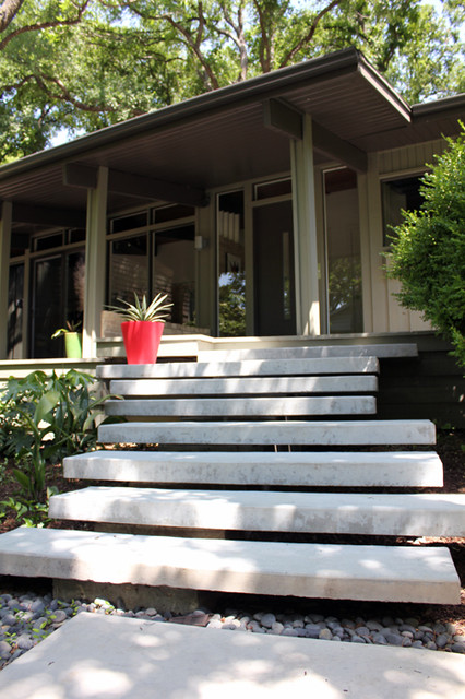 Floating Staircase Floating Concrete Steps Dallas Tx
