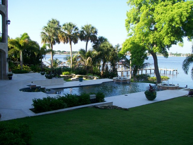 Florida residential landscape for Florida residential architects