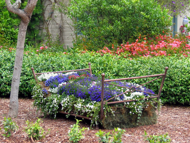 Flower Bed rustic-landscape