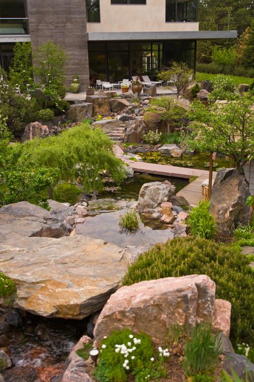 rock garden landscape