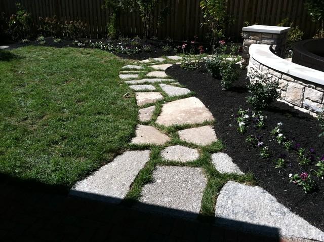 fond du lac stone walkway in upper arlington ohio traditional