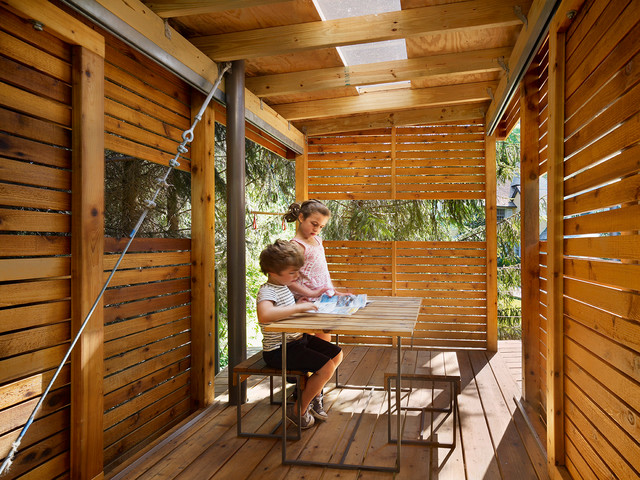 for fun a tree house modern landscape - Kids Tree House Interior