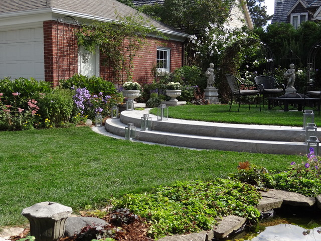 Landscaping A Small Sloped Backyard Various Design Inspiration For Backyard
