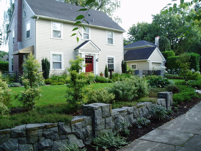 Formal Colonial Traditional Landscape Portland By