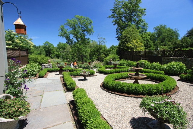 Formal garden traditional landscape new york by for Landscape design new york