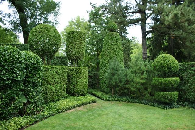 Formal Garden Design Traditional Landscape chicago