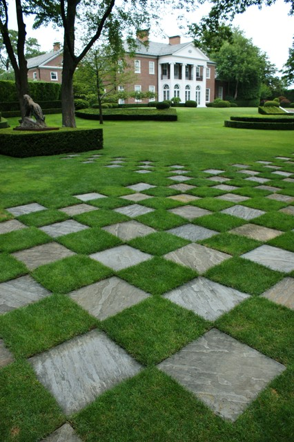 Formal garden design traditional landscape chicago for Formal landscape design