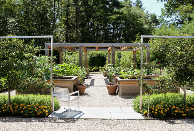 Formal Vegetable Garden