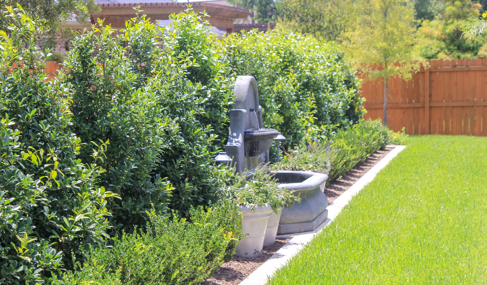 Fountain Project - Contemporary - Landscape - Dallas - by ...