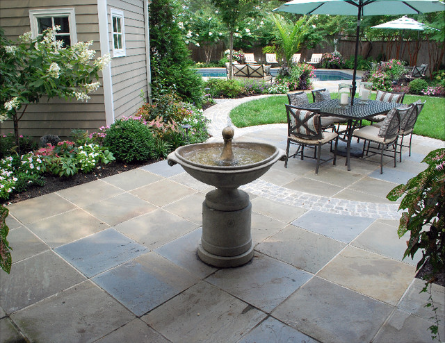 Fountains & Water Features traditional-landscape