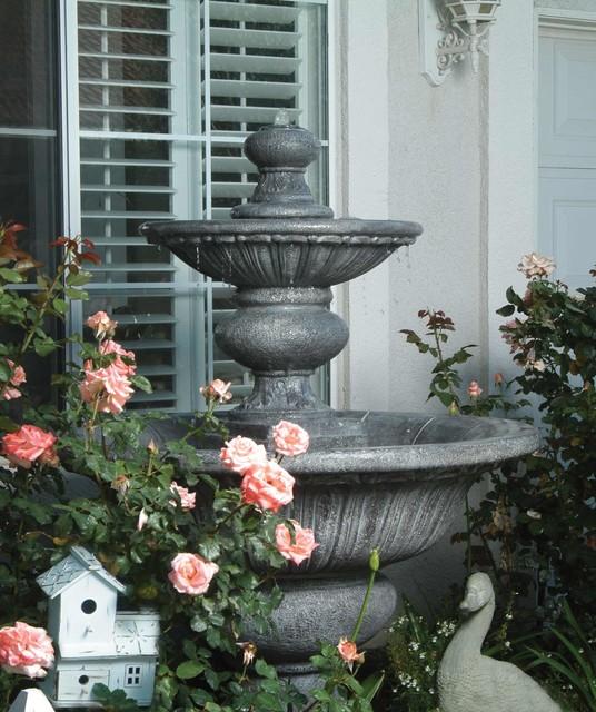 Fountains Classique Jardin Los Angeles Par Fiore