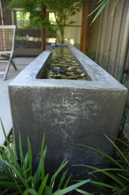 Fountains Modern Landscape San Francisco By Studio