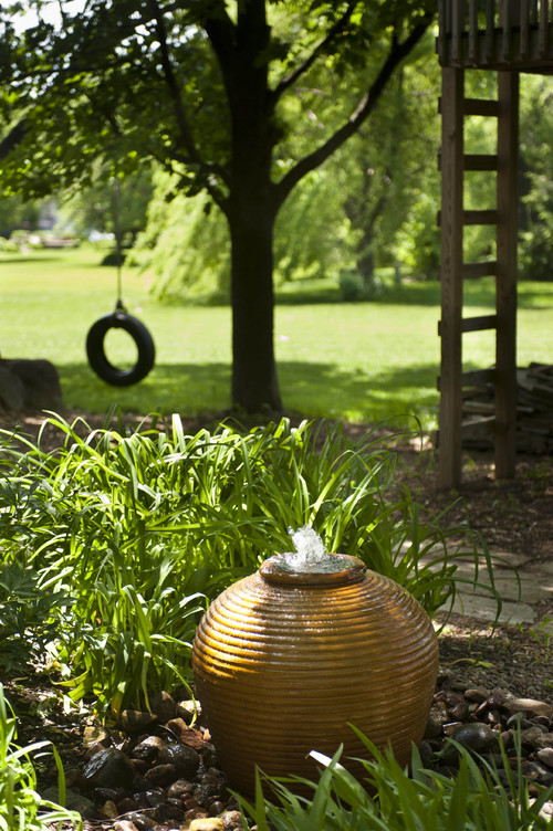 Add a Garden Fountain to Your Yard  Live Creatively Inspired