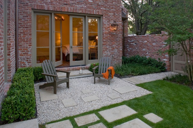 French Country Modern Modern Landscape Houston By