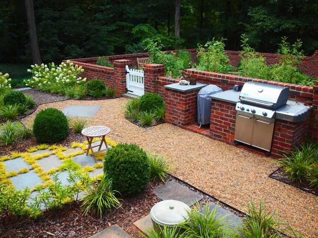 Culinary Garden Traditional Landscape Charlotte By