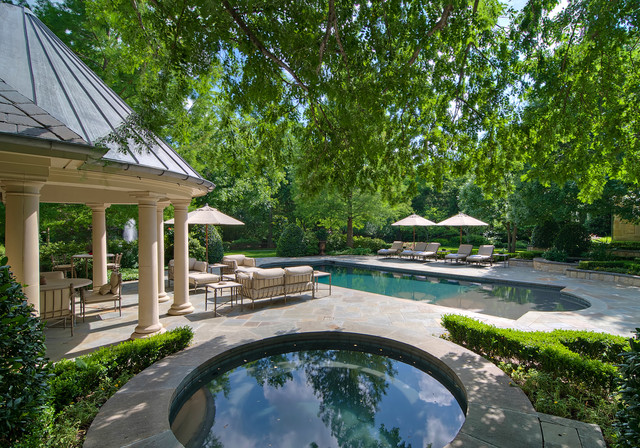 Luxury Estate Property Traditional Landscape Dallas