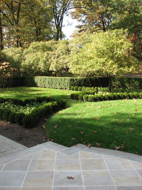 French inspired Boxwood Parterre Garden