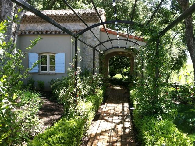 French Provence Farmhouse Farmhouse Landscape