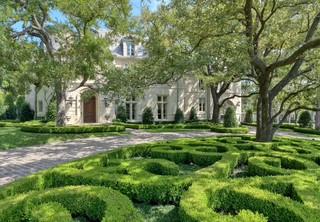 Private Residence - French Formal Estate - Traditional - Landscape - dallas - by Harold Leidner ...