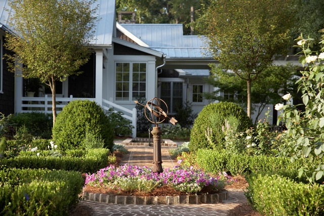 From Pre-Fab to Farmhouse - Farmhouse - Landscape - Atlanta - by Historical Concepts