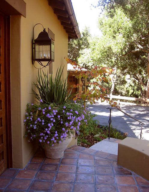 Front Door mediterranean-landscape