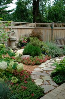 Traditional Landscape by Glenview Landscape Architects & Landscape Designers Exterra Designs, Inc