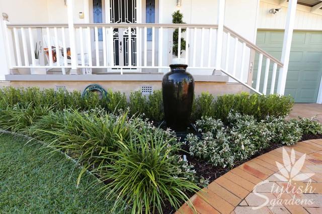 Front Garden Design / Front Garden Driveway / Front Garden ... on back deck garden ideas, front yard fence, bedroom garden ideas, porch garden ideas, front driveway design, balcony garden ideas,