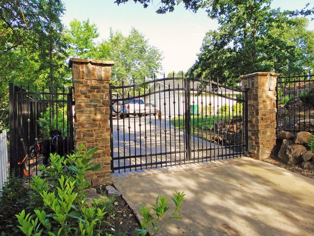 Front Gates Traditional Landscape Other Metro By