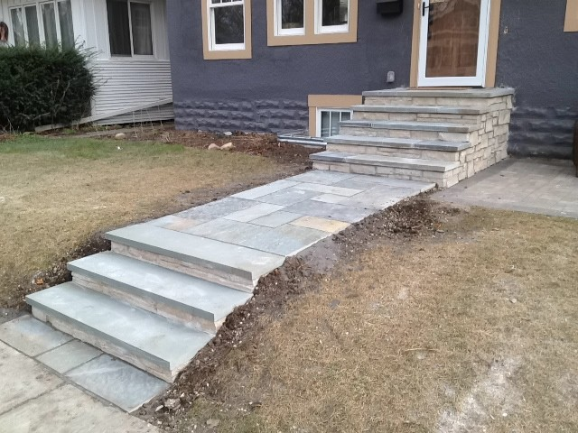 Front Steps And Walkways Transitional Landscape Minneapolis