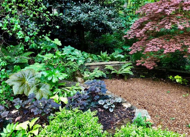 Front Stroll Garden:  Spring, 2019. eclectic-landscape